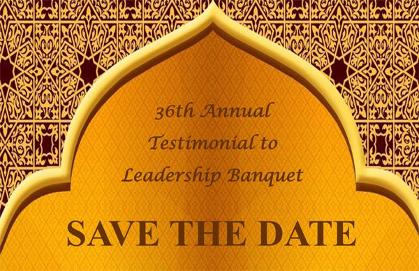 Testimonial to Leadership Banquet